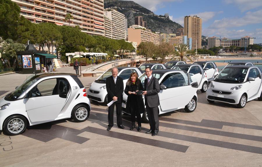 Smart elettriche al Principato di Monaco