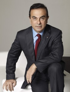 Carlos GHOSN, CEO Nissan-Renault