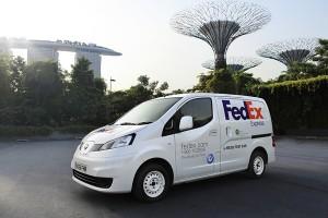 Nissan e-NV200 FedEx