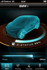 BMW serie i app