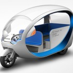 EV Tricycle Taxi Terra Motors