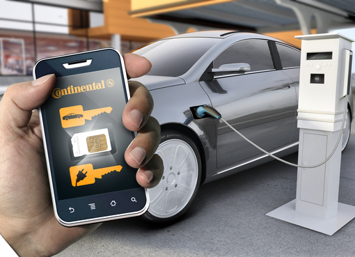 Continental Car-Key car sharing