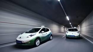 Nissan Leaf Taxi