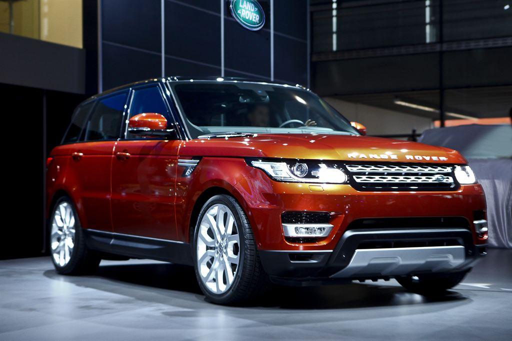Range Rover Sport Shangai