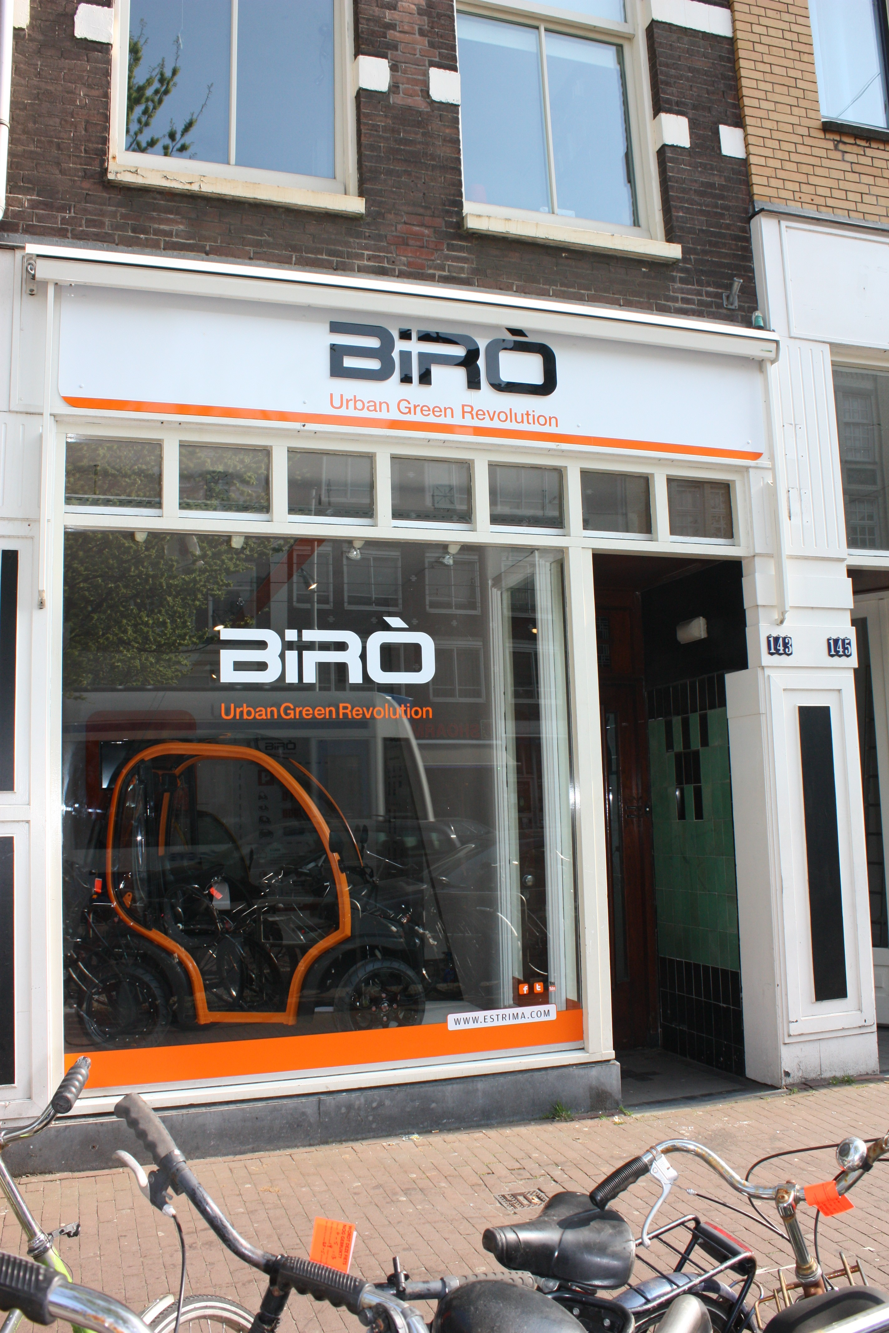 monomarca Birò ad Amsterdam