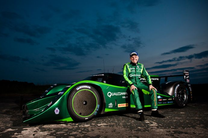 Drayson B12 69ev world electric land speed record