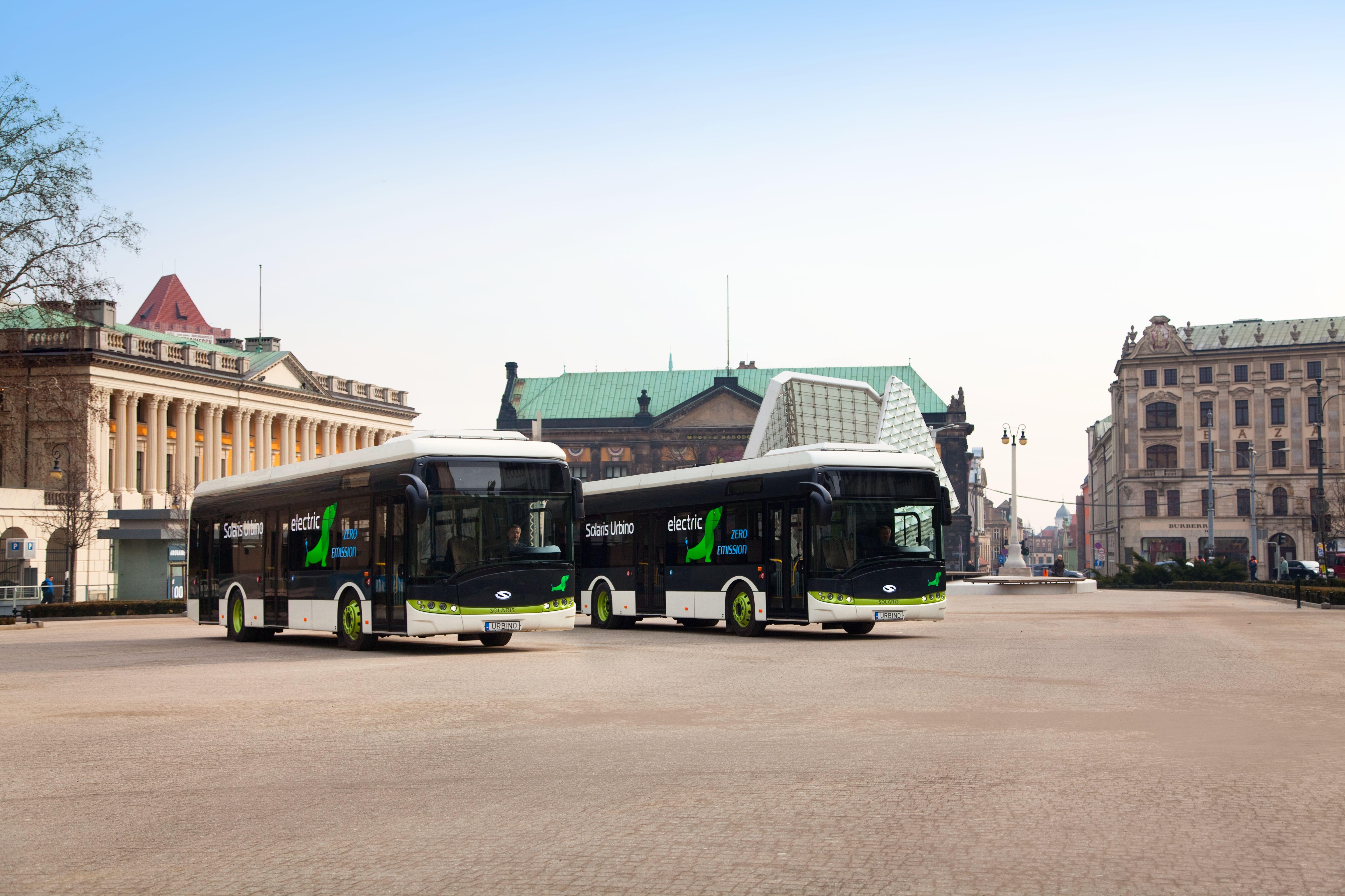 autobus elettrici Solaris a Dusseldorf - Solaris Urbino electric