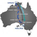 australia map route