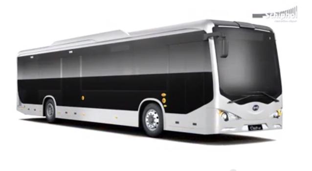 BYD bus elettrico