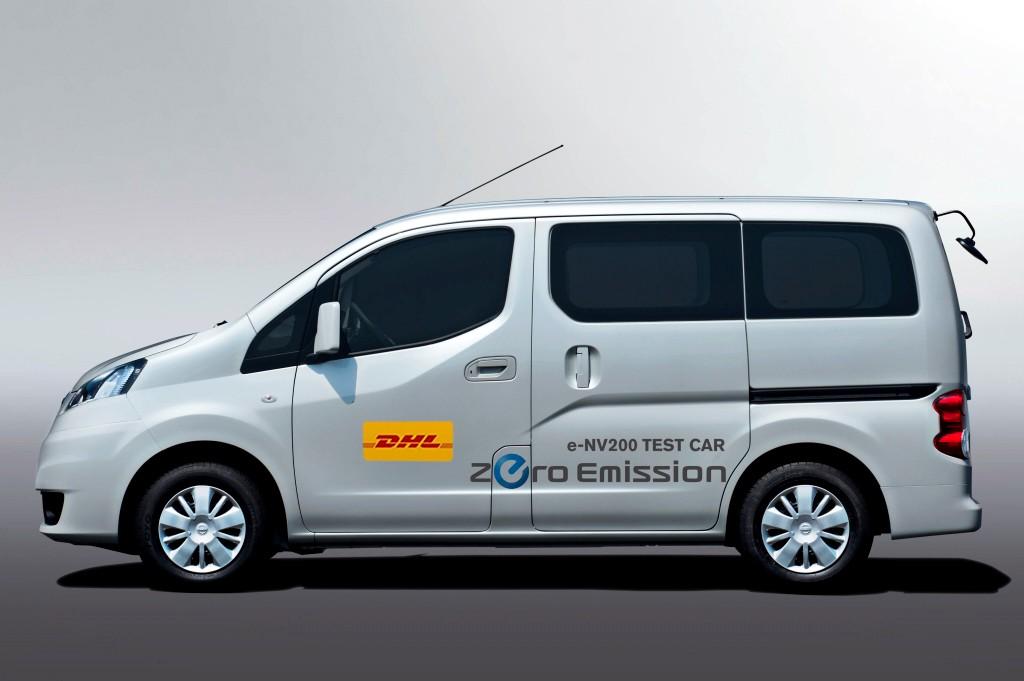 Nissan e-NV200 DHL