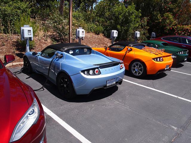 Auto elettriche, Palo Alto, CA