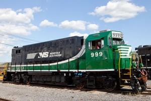 Green Weenie, locomotiva elettrica a batteria NS 999