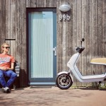 Q electric urban scooter QWIC