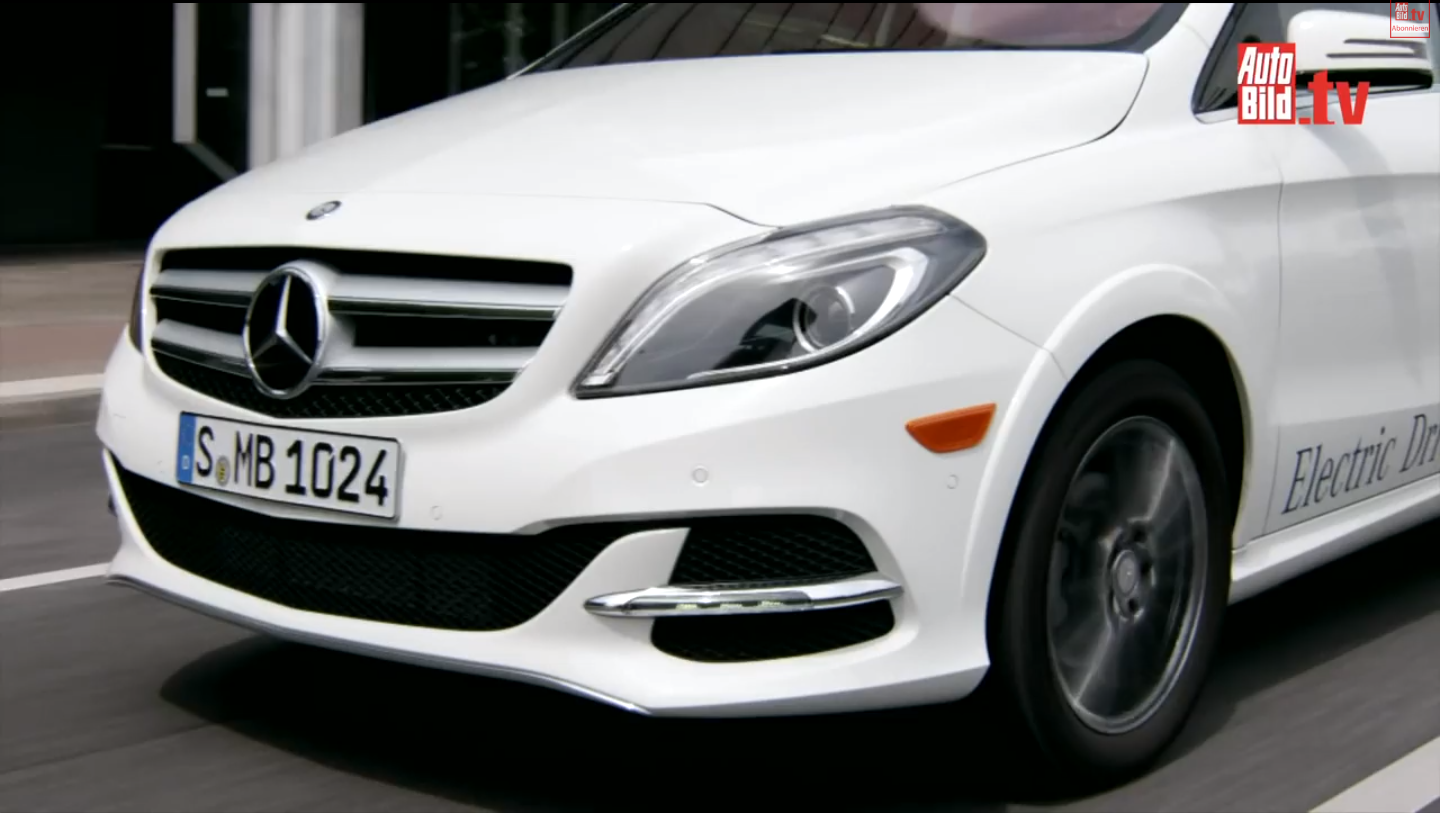 Mercedes benz classe b electric drive prime for Mercedes benz tv