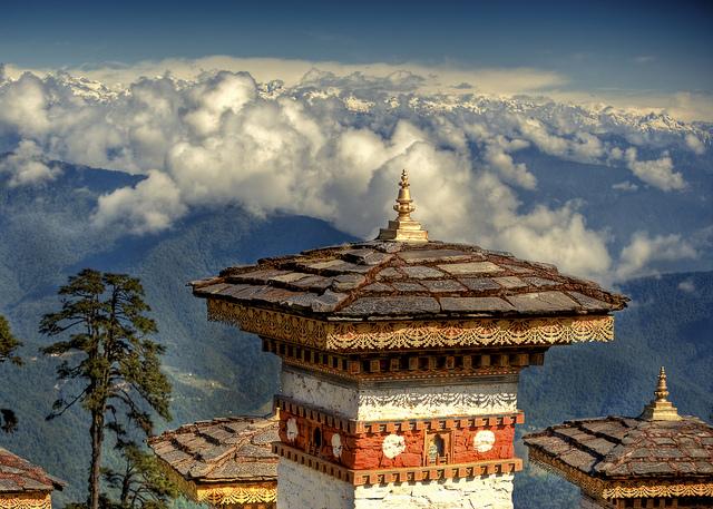 Bhutan Solo Auto Elettriche Per La Capitale Himalayana