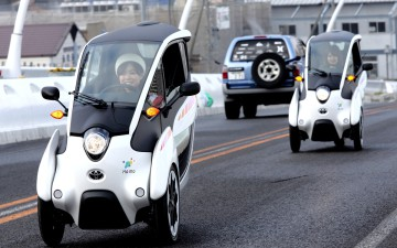Toyota i-Road, presto nel car sharing di Grenoble