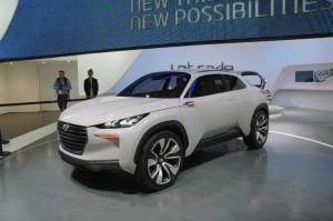 Hyundai Intrado Fuel Cells al Salone di Ginevra - Credit: salon-geneve.ch