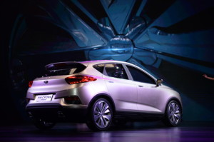 Emgrand Cross PHEV - Credits: Geely
