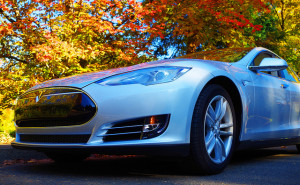 Tesla Model S - photo credit: Wolfram Burner via photopin cc