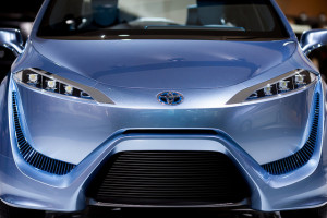 Toyota FCV-R - photo credit: Thomas Hawk via photopin cc