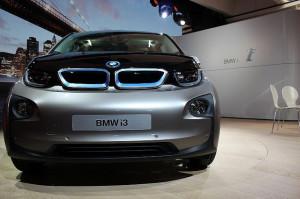BMW i3 - photo credit: Inhabitat via photopin cc