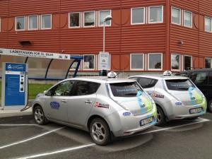 Taxi elettrici - Photo Credit: Comune di Trondheim