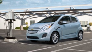 Chevrolet Spark EV - Credit: GM