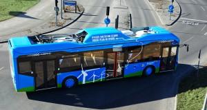 Gli autobus Volvo ibridi plug-in attualmente in servizio a Goteborg