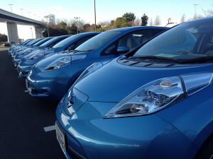 Nissan Leaf - photo credit: NISSANEV via photopin cc
