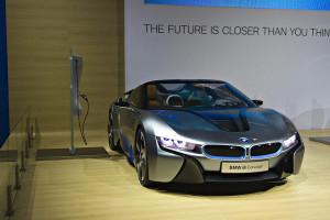BMW i8 - photo credit: Melissa Hincha-Ownby via photopin cc