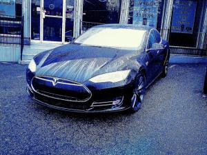 Tesla Model S - photo credit: Zlatko Unger via photopin cc