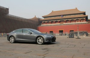 Tesla Model S Beijing