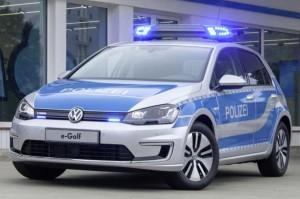 eGolf Polizei
