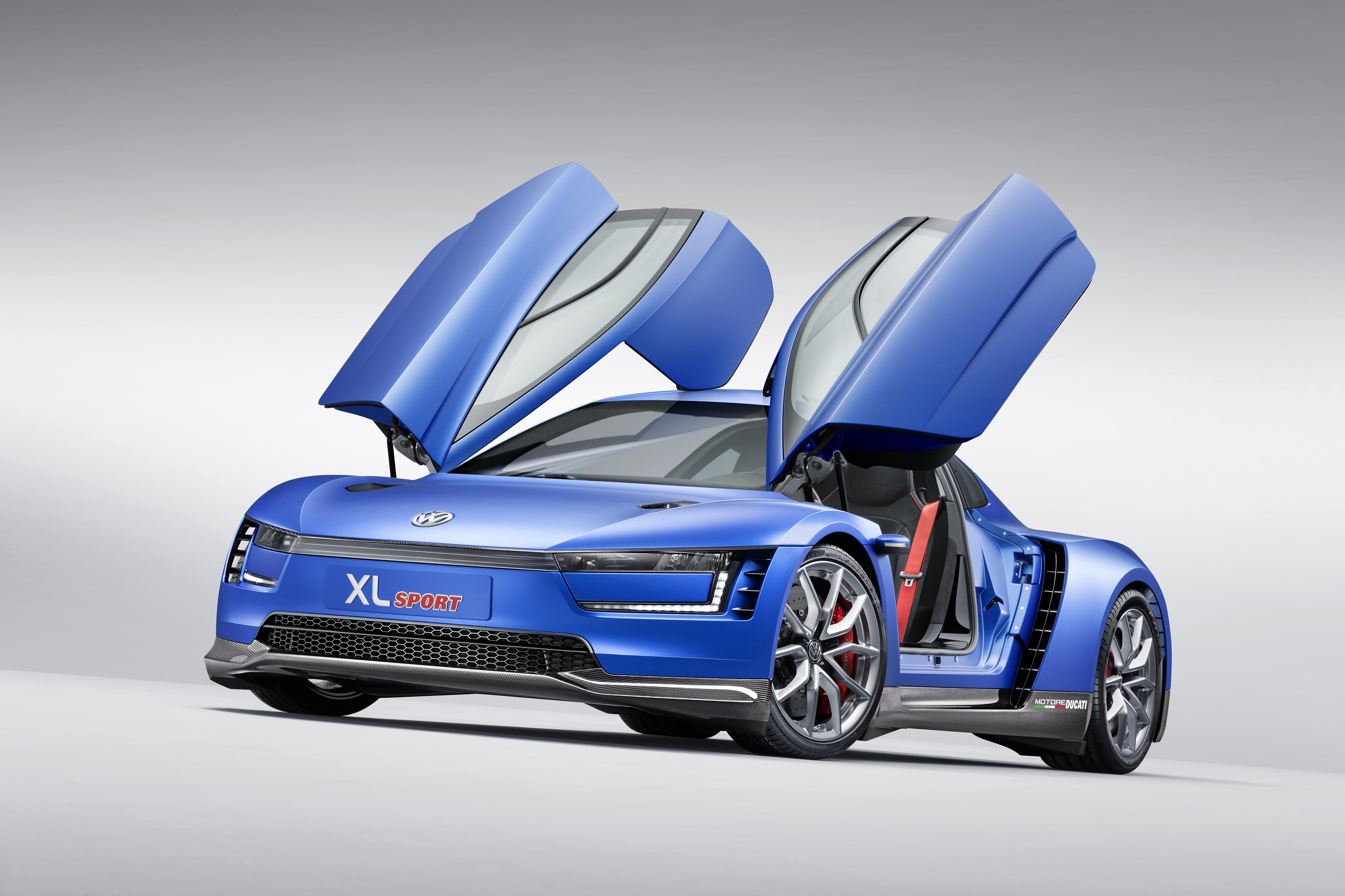 Volkswagen Xl1 Sport Ibrida Da Competizione Grazie A Ducati