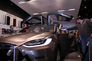 Tesla Model X - photo credit: arnolddeleon via photopin cc