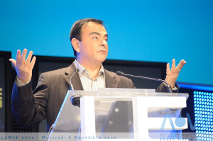 Carlos Ghosn - photo credit: Hervé Corcia via photopin cc