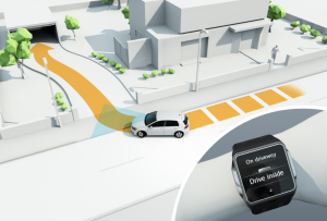Volkswagen autoparking + intelligent charge