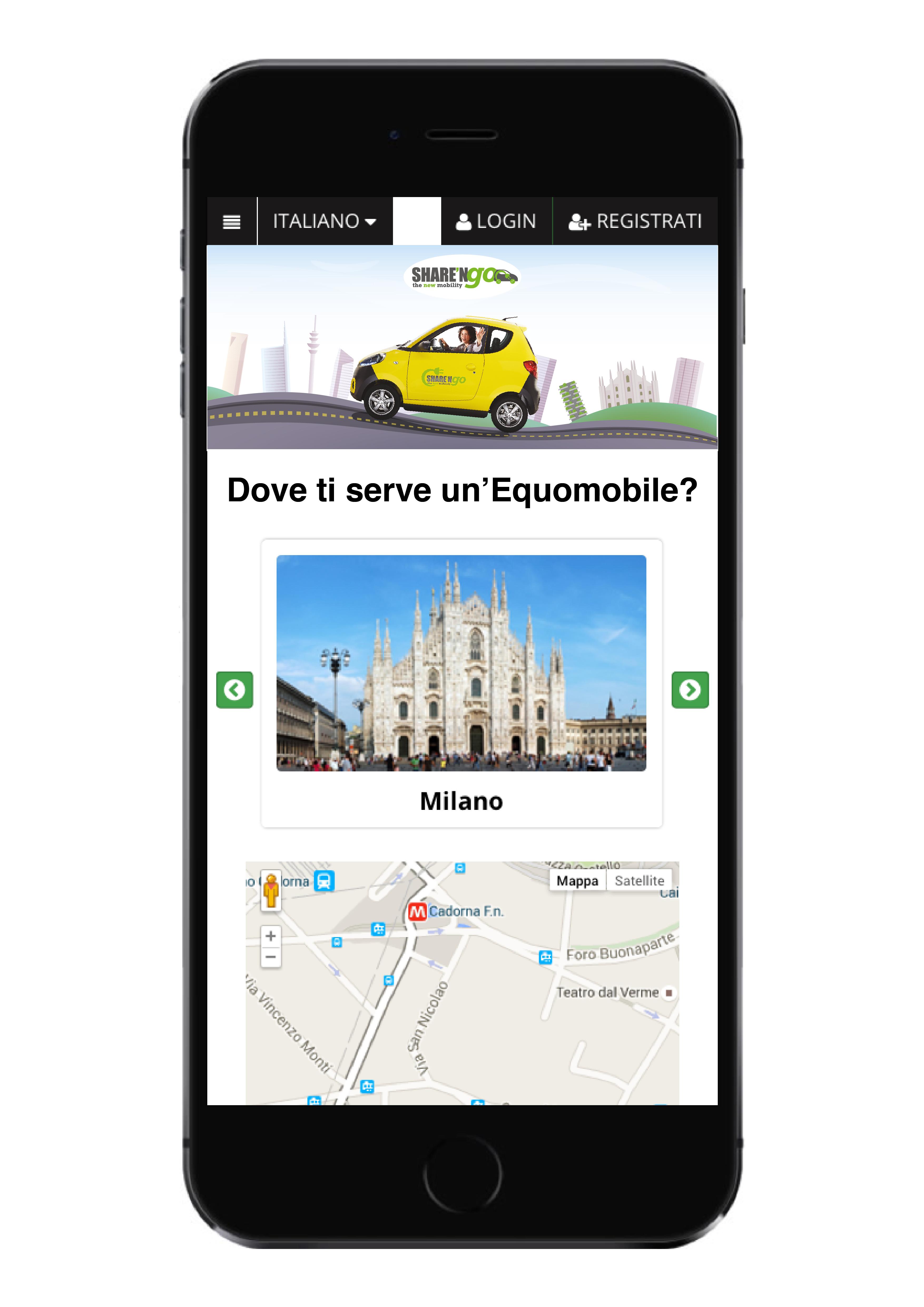 app sharengo