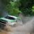 Mitsubishi Outlander PHEV al traguardo dell'Asia Cross Country Rally 2015