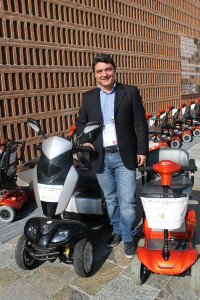 Andrea Ferretti, co-fondatore del Mobility Center