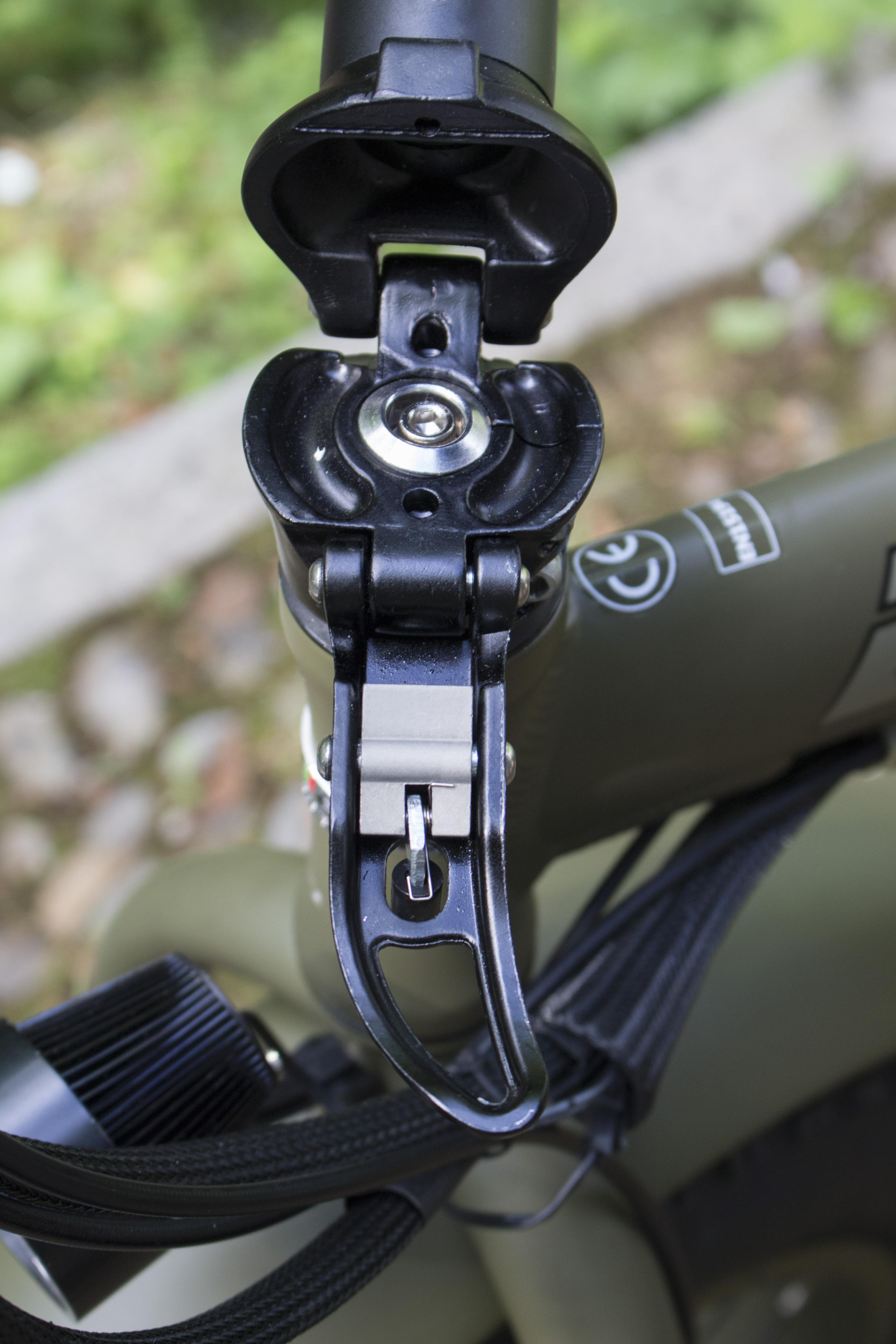 Bad bike presenta la prima fat bike elettrica e pieghevole for Bici ripiegabili