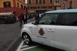 consegna auto elettrica Kia