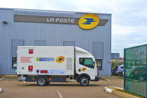 Maxity Elettrico è attualmente in fase di test in condizioni di reale utilizzo da La Poste a Dole (dipartimento Jura)