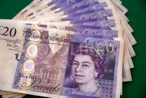 Paper Money Twenty Pound Notes