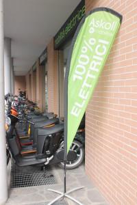 Il punto vendita di Milano