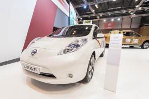Nissan Leaf Madrid Motor Show