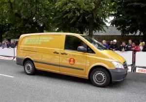 Mercedes-Benz Vito E-CELL per le poste danesi