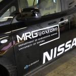 Oxford robotic car, photo credit: MRG