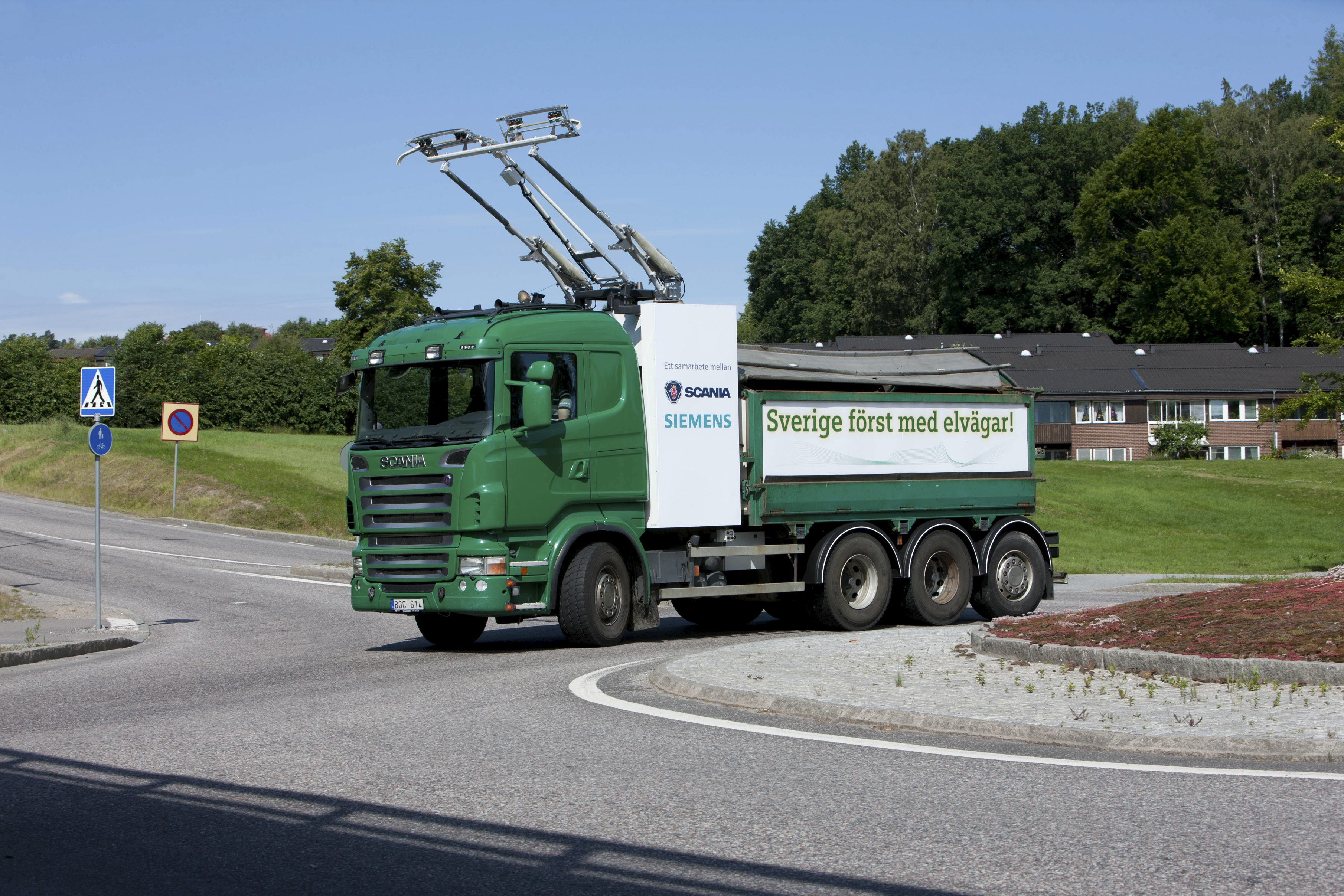 Scania Siemens camion elettrici
