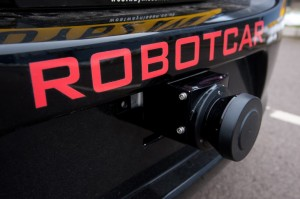 Oxford robot car, photo credit: John Cairns